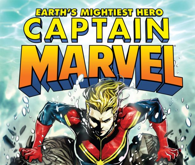 CAPTAIN MARVEL (2012) #8 Cover