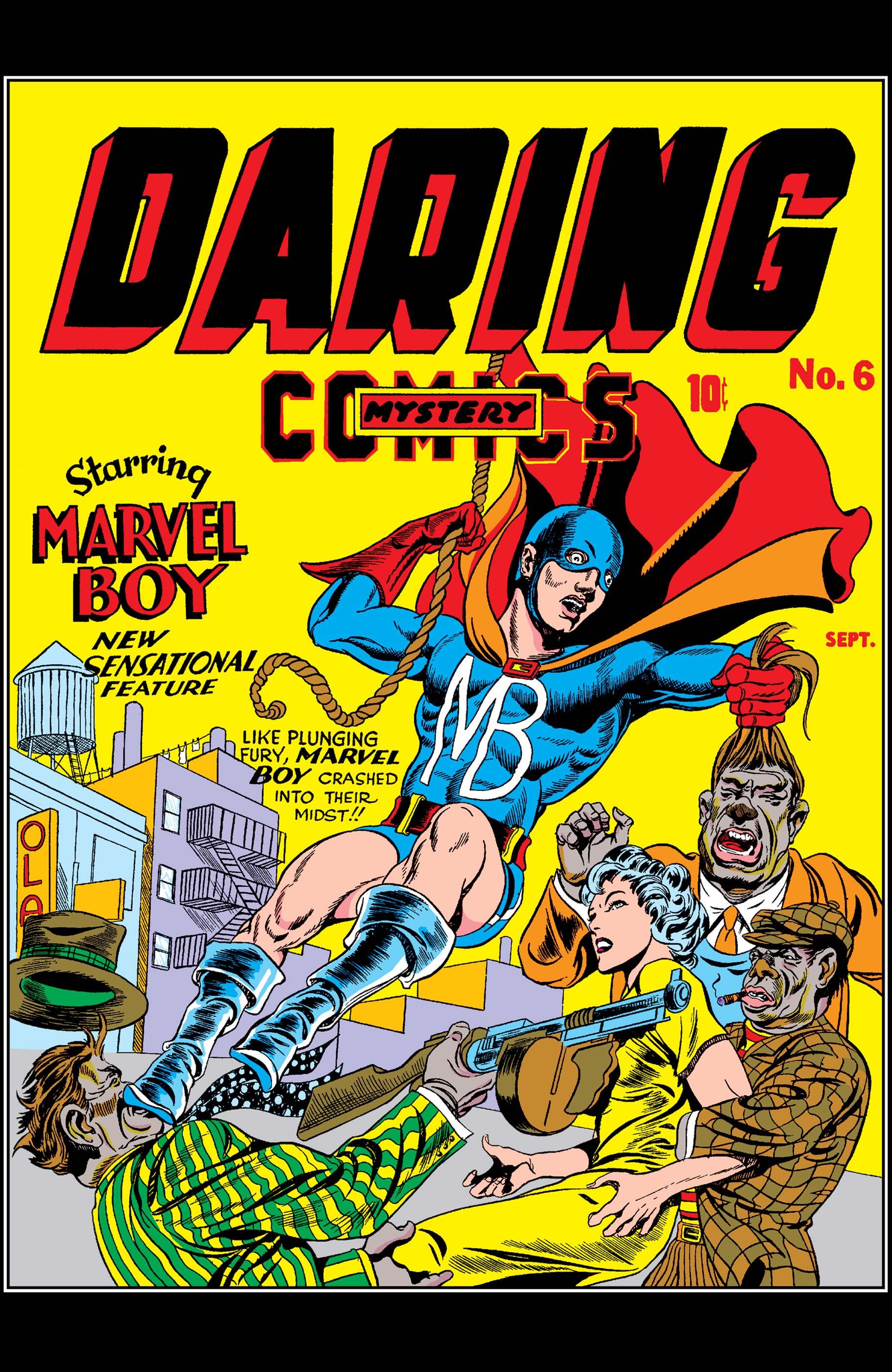 Daring Mystery Comics (1940) #6