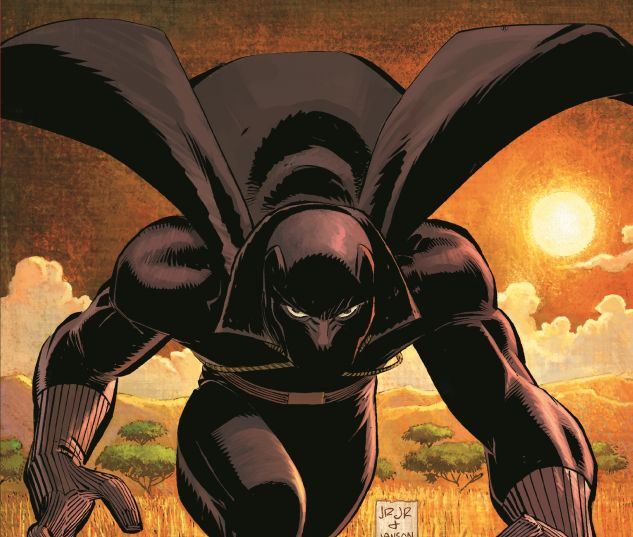 cover from Black Panther: Who Is the Black Panther (2015)