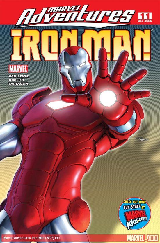 Marvel Adventures Iron Man (2007) #11