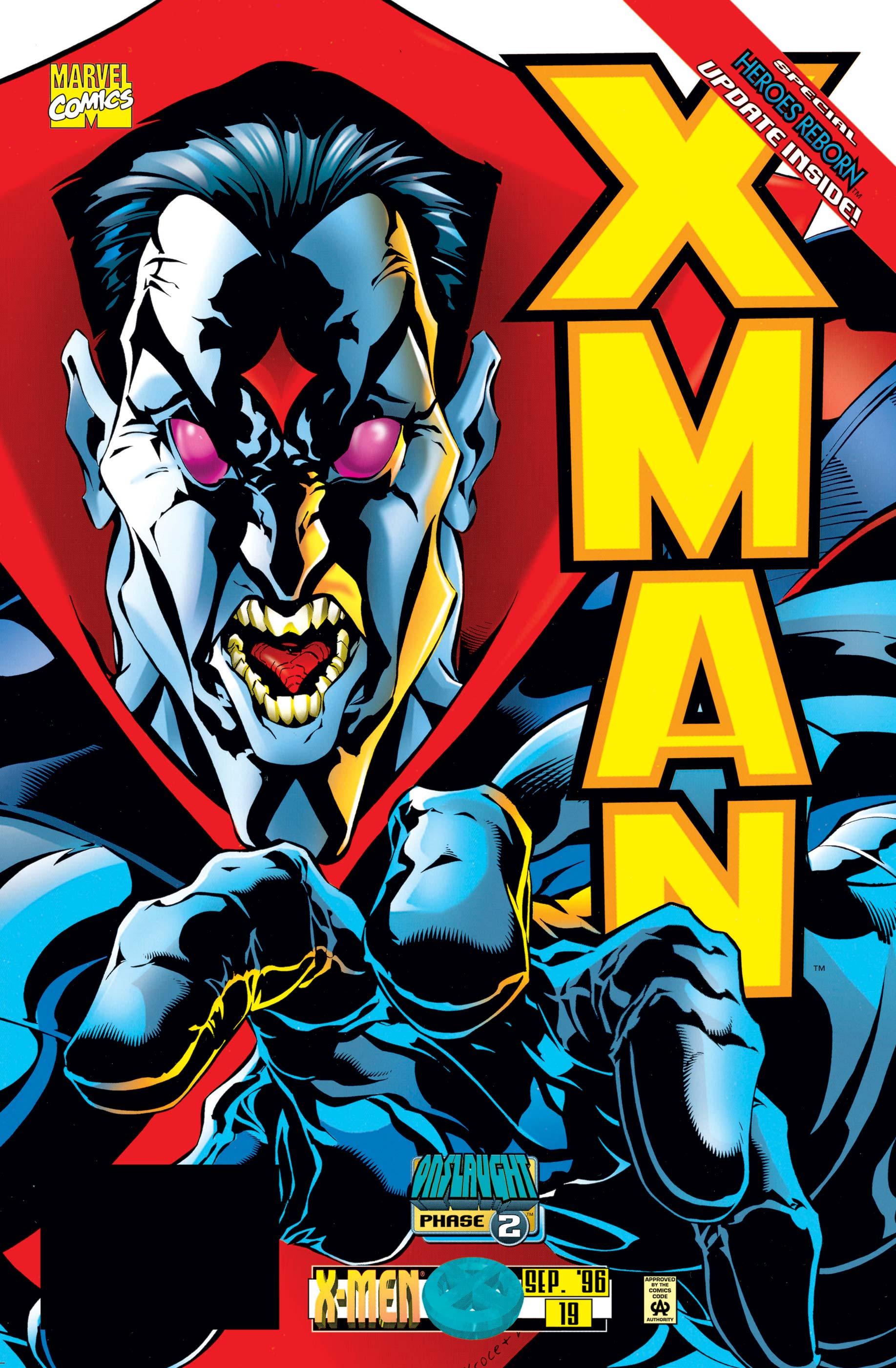 X-Man (1995) #19