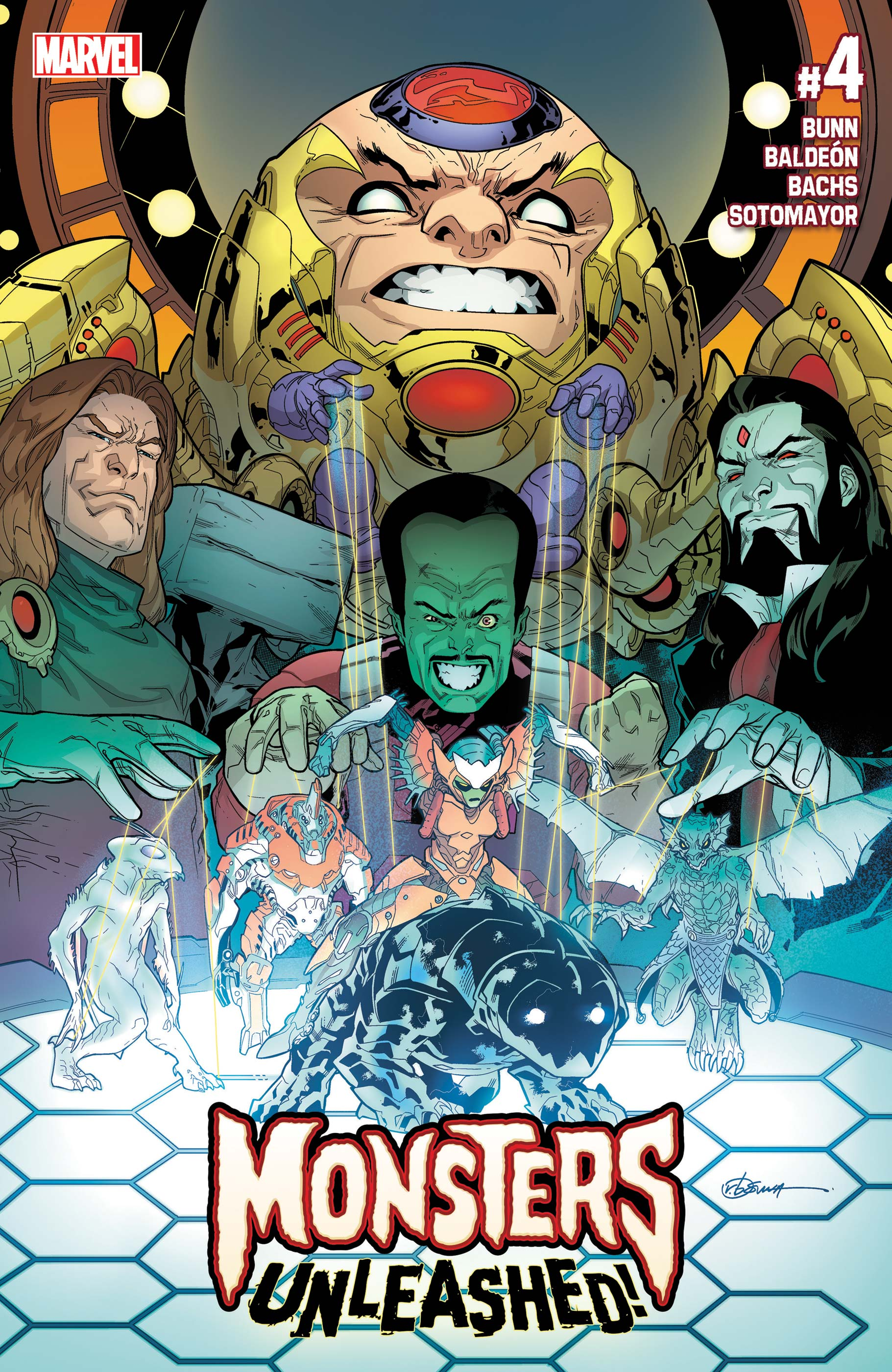 Monsters Unleashed (2017) #4