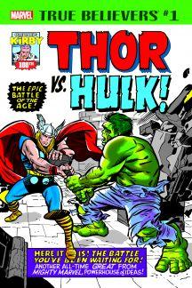 True Believers: Kirby 100th - Thor Vs. Hulk (2017) #1