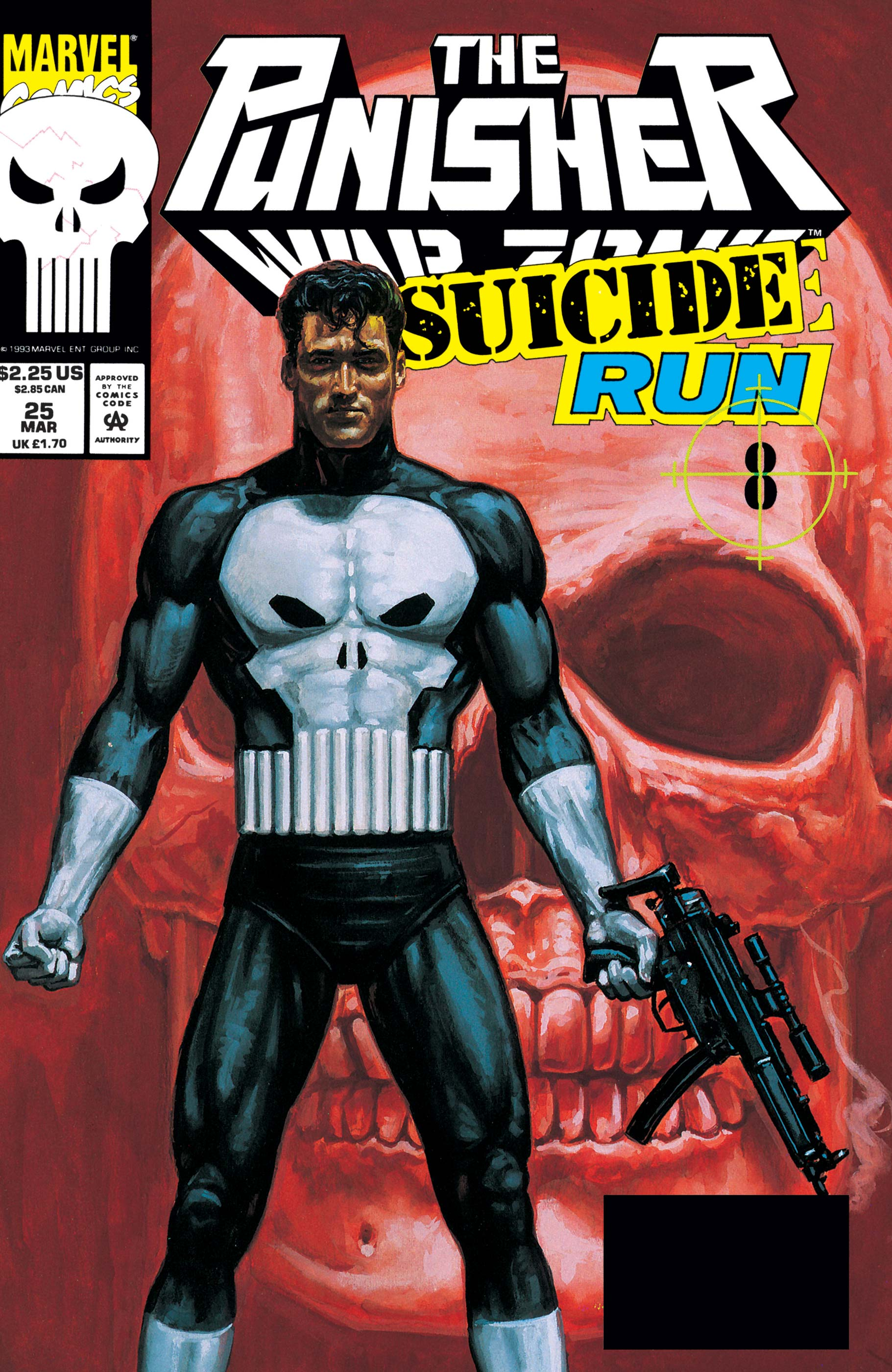 The Punisher War Zone (1992) #25