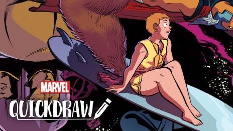 Squirrel Girl on Marvel Quickdraw!