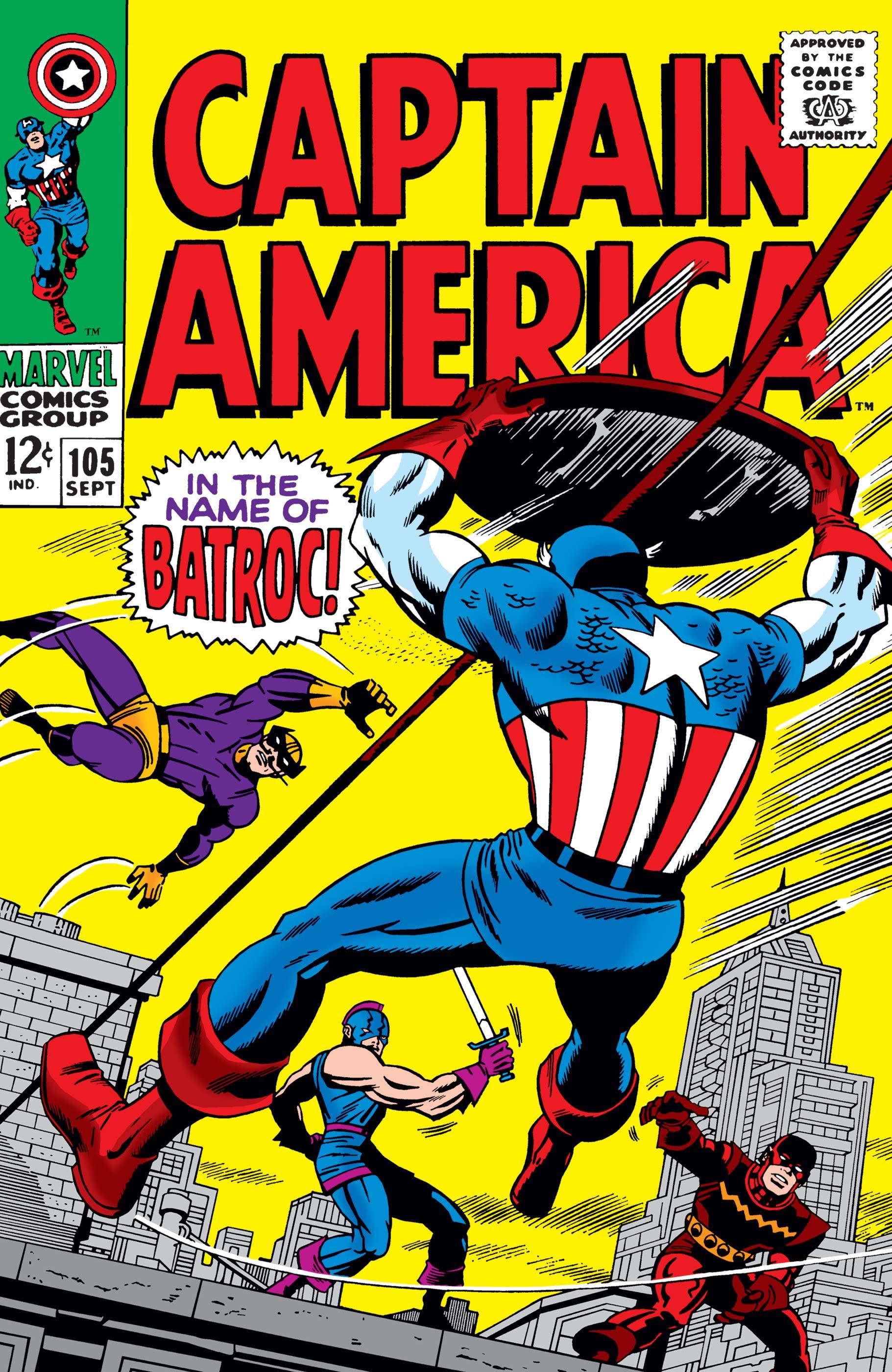 Captain America (1968) #105