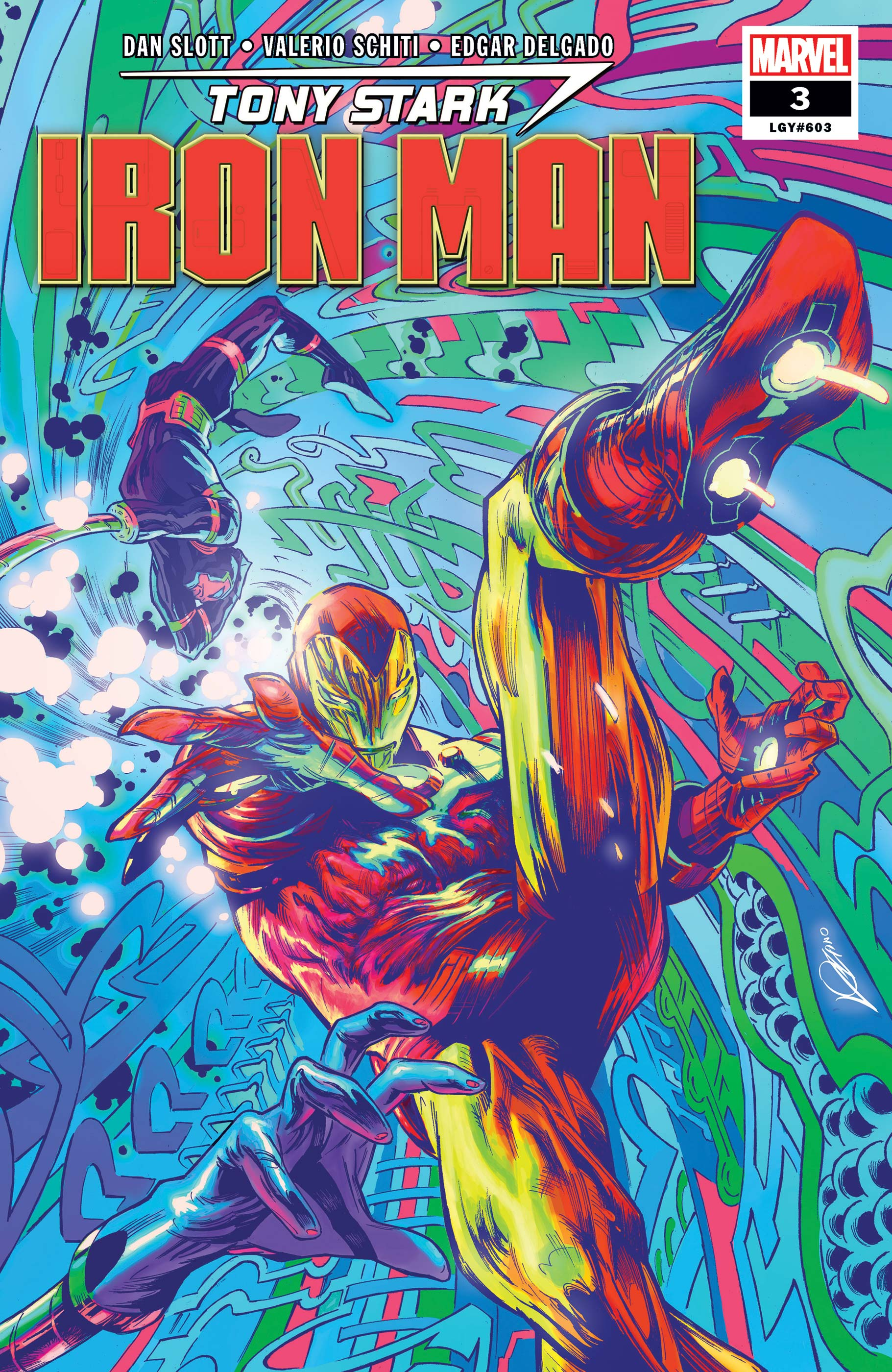 Tony Stark: Iron Man (2018) #3