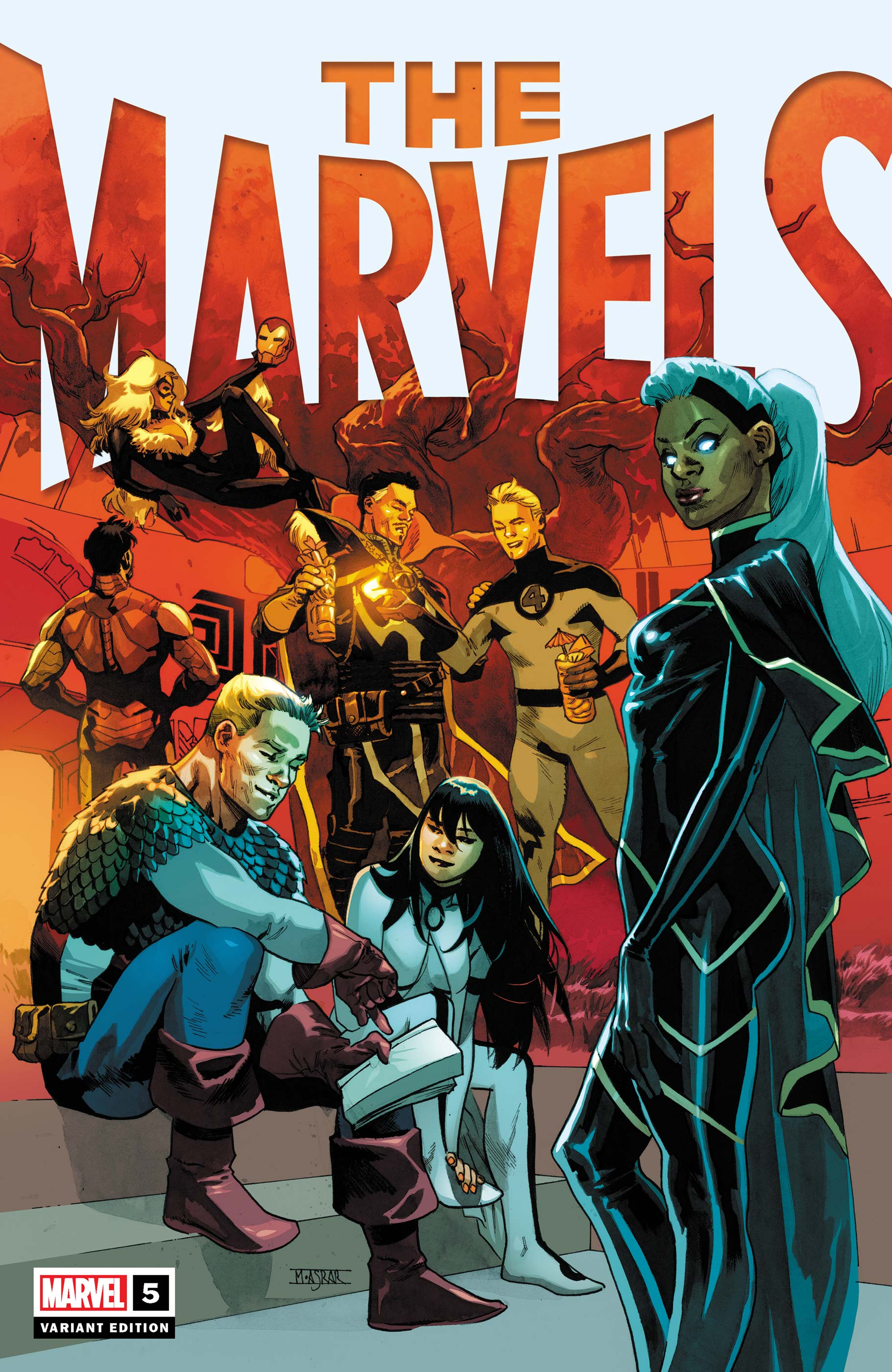 The Marvels (2021) #5 (Variant)