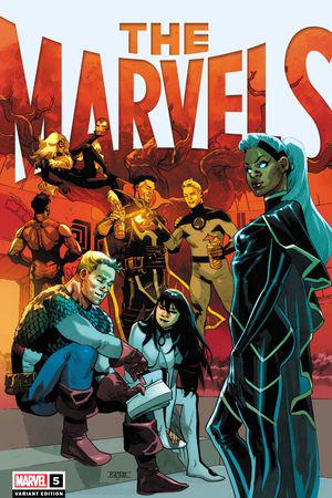 The Marvels #5  (Variant)