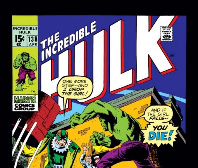 INCREDIBLE HULK #138 COVER