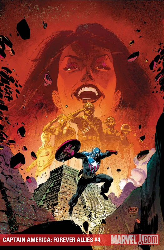 Captain America: Forever Allies (2010) #4