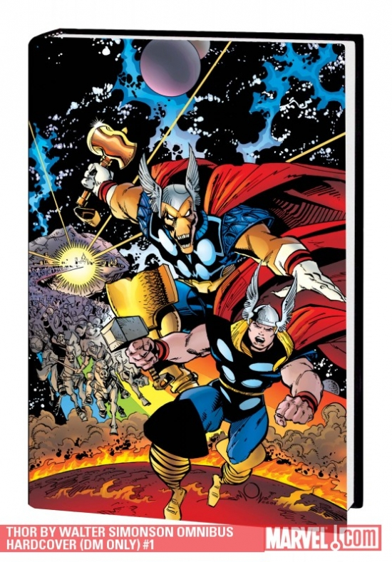 Thor by Walter Simonson (DM Only) (Hardcover)