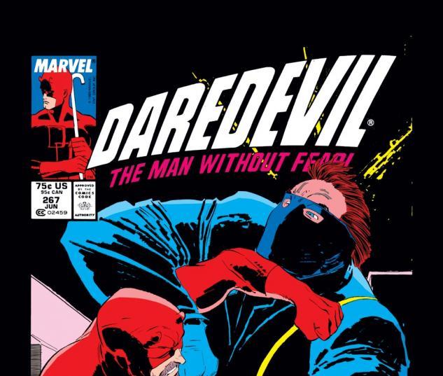 Daredevil (1963) #267 Cover