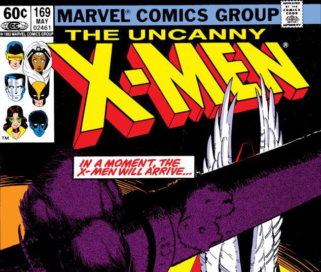 Uncanny X-Men (1963) #169 Cover