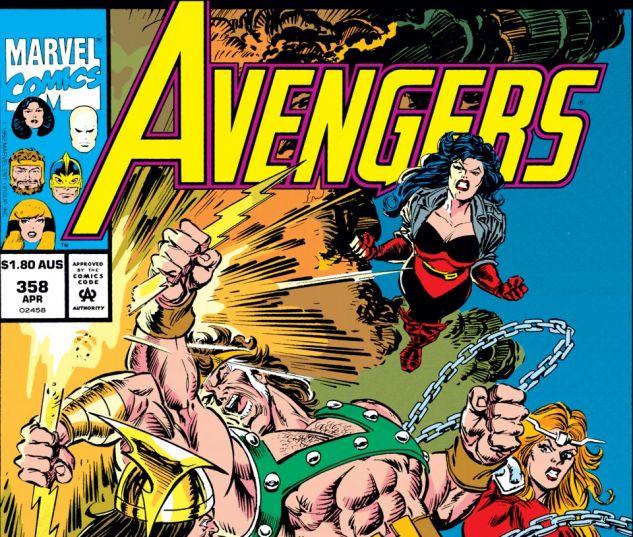 Avengers (1963) #358 Cover