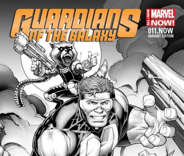 GUARDIANS OF THE GALAXY 11.NOW KEOWN SKETCH VARIANT (ANMN, WITH DIGITAL CODE)