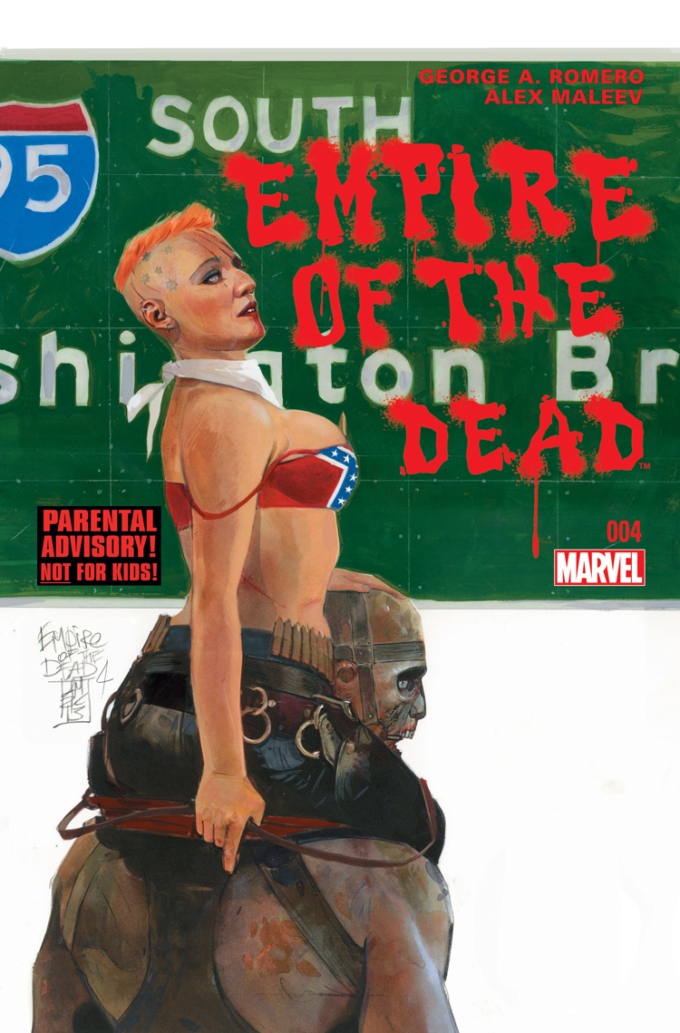 George Romero's Empire of the Dead: Act One (2014) #4
