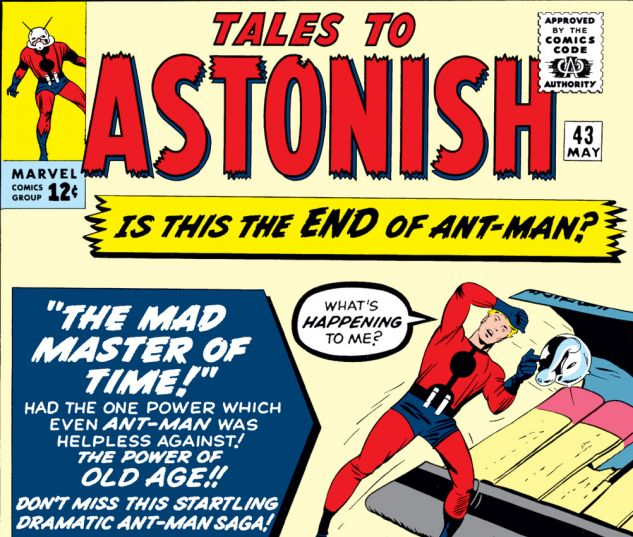 Tales to Astonish (1959) #43 Cover