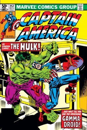 Captain America #257