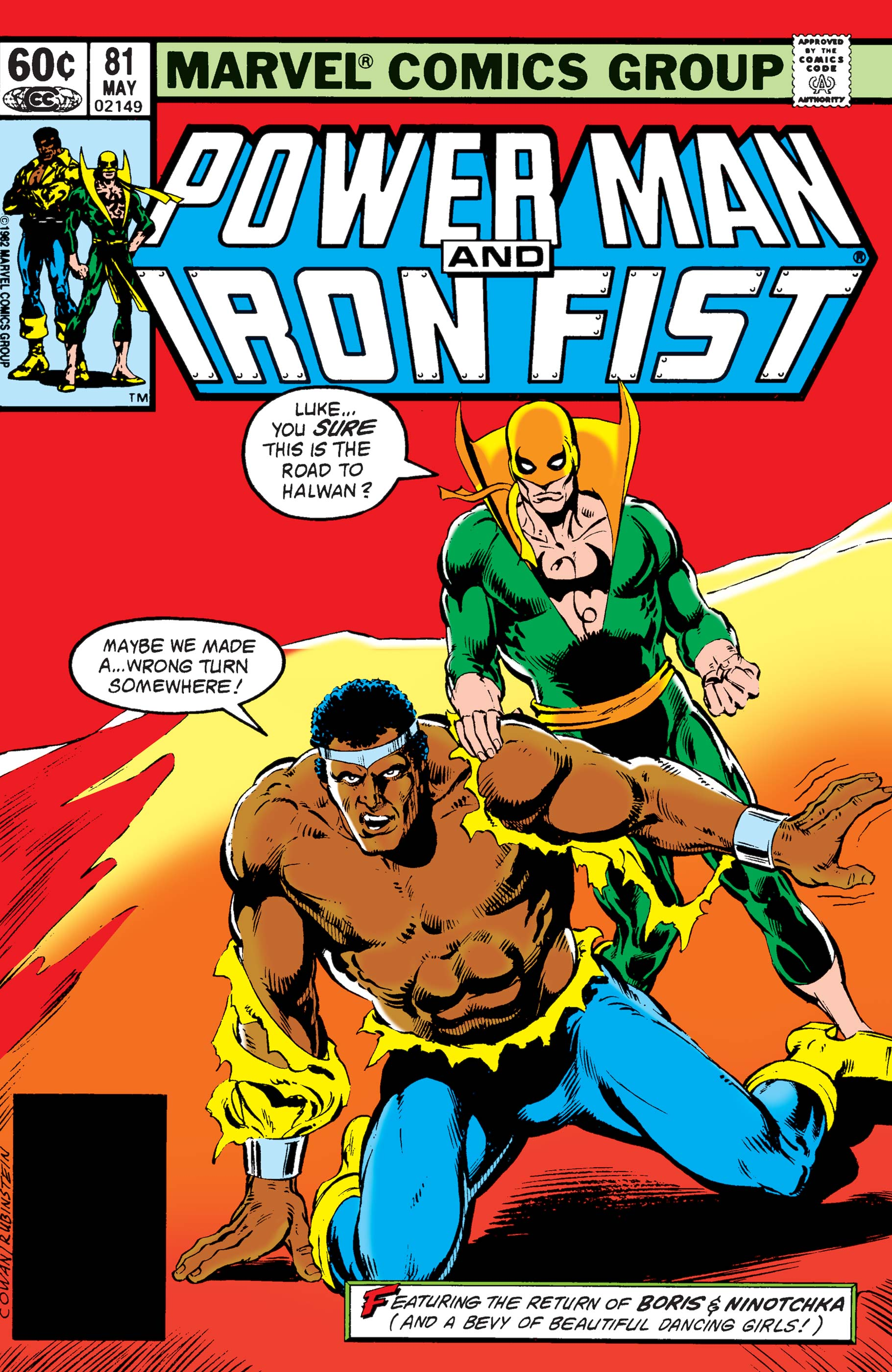 Power Man and Iron Fist (1978) #81