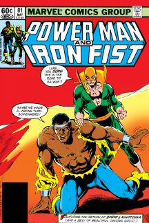 Power Man and Iron Fist #81