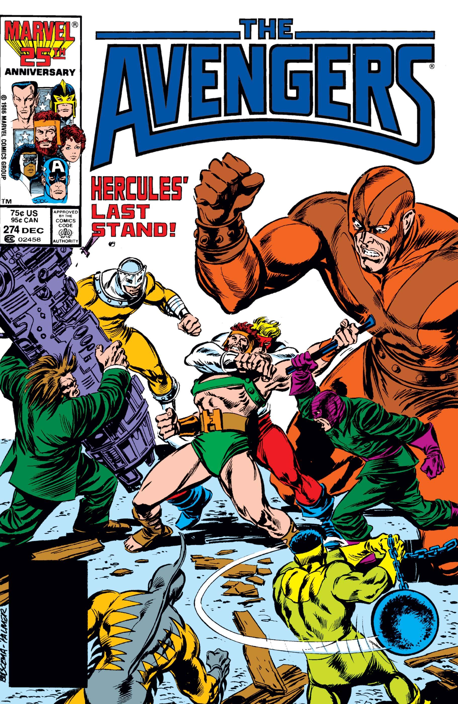 Avengers (1963) #274