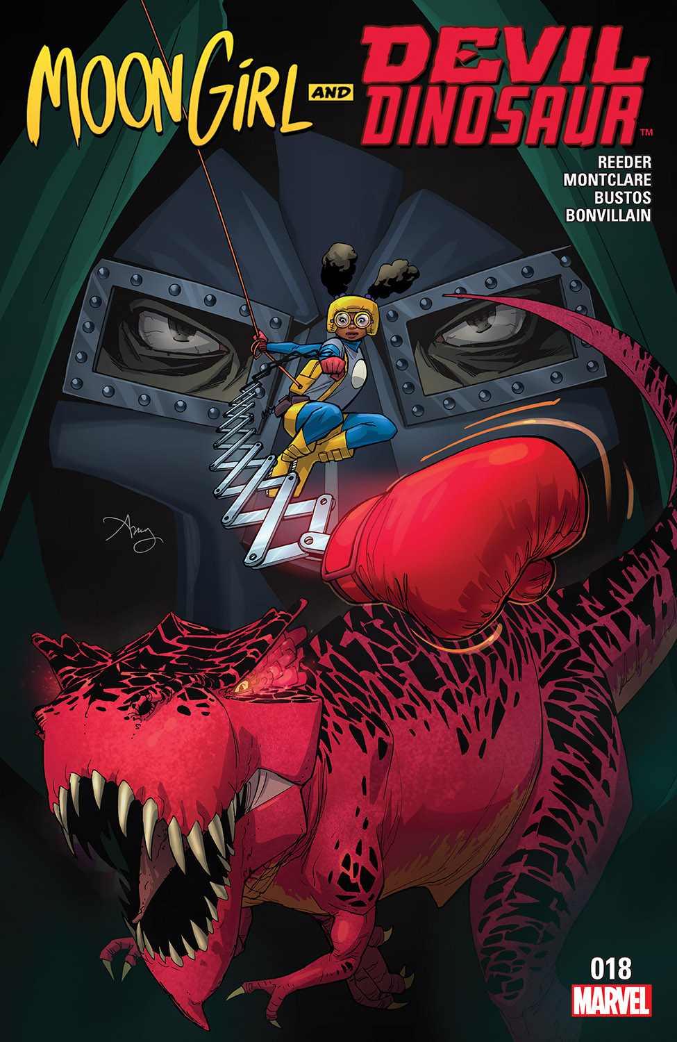Moon Girl and Devil Dinosaur (2015) #18