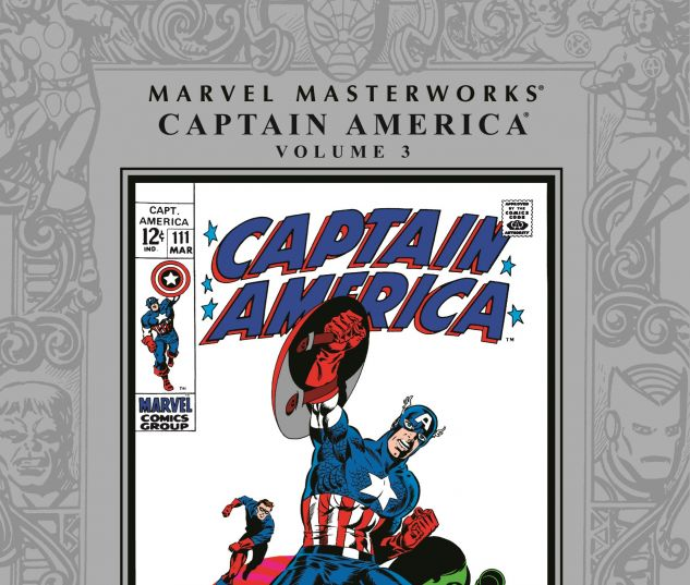 MARVEL MASTERWORKS: CAPTAIN AMERICA VOL. 0 cover