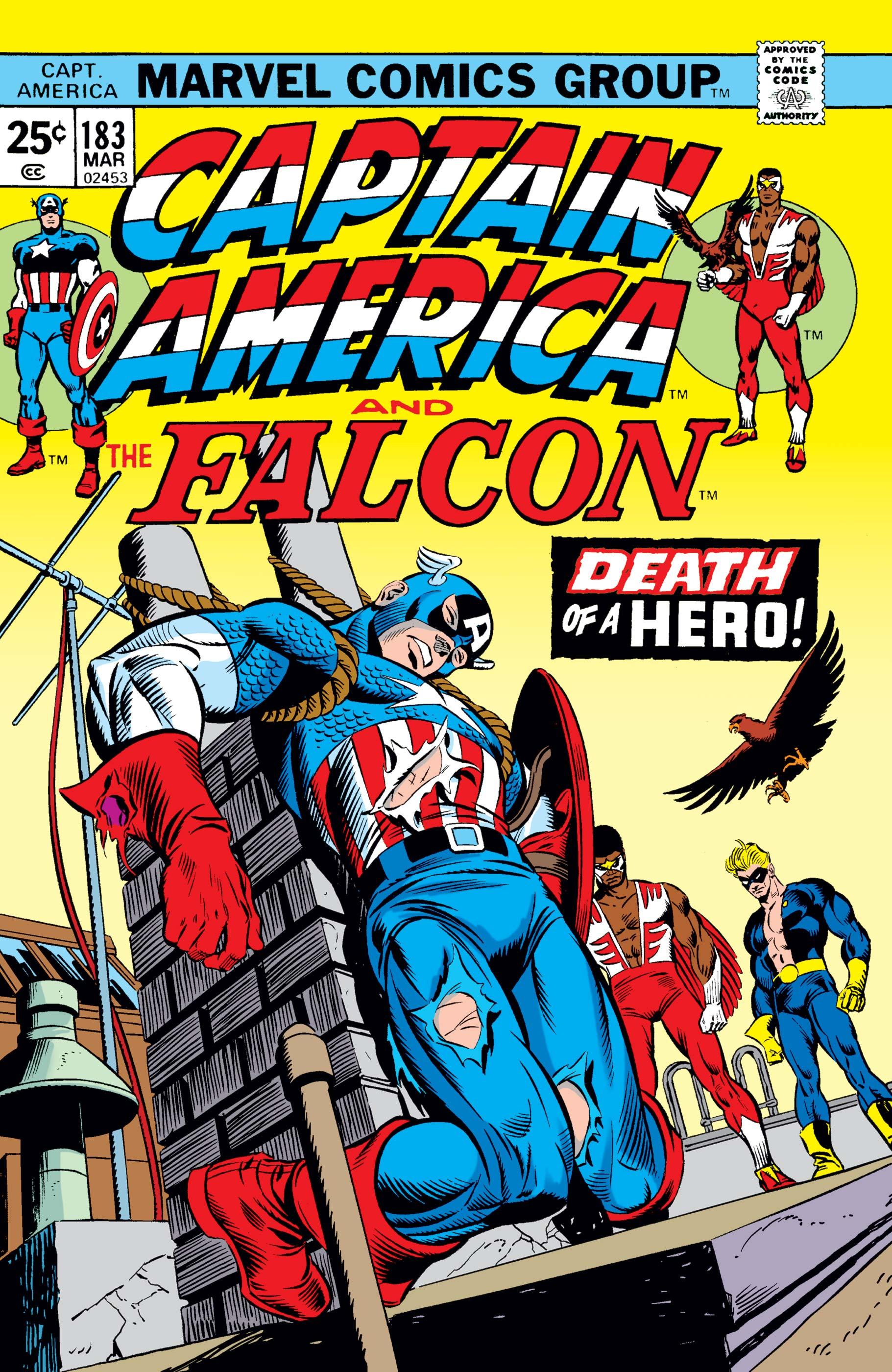 Captain America (1968) #183