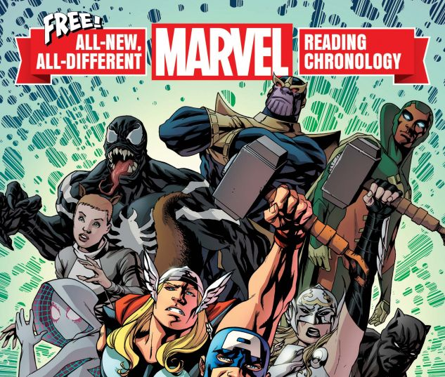 cover to All-New, All-Different Marvel Reading Chronology (2017) #1
