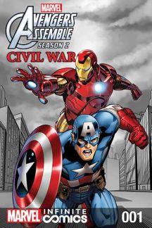 Marvel Universe Avengers Assemble: Civil War (2017) #1