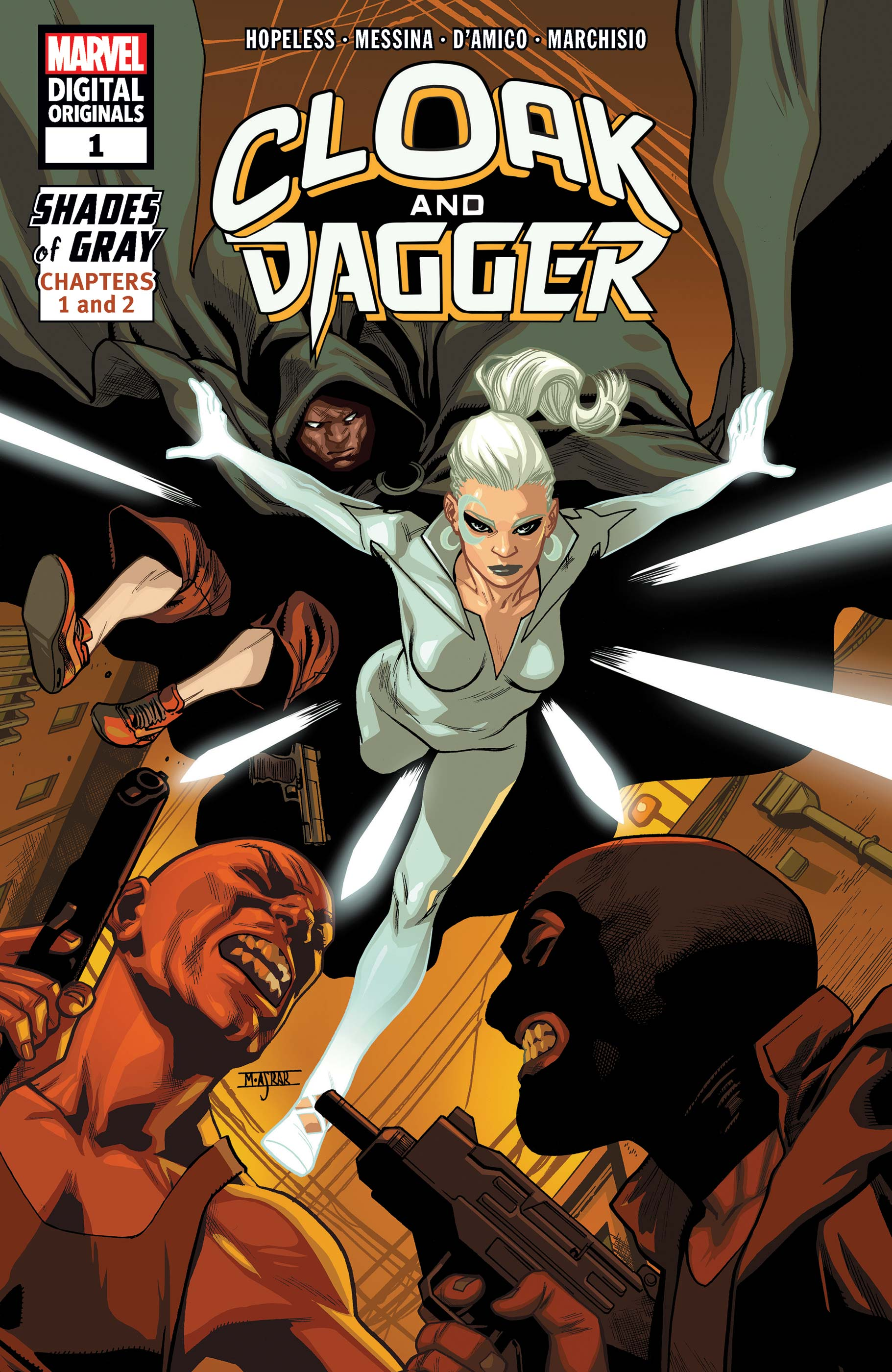 Cloak and Dagger: Marvel Digital Original - Shades of Gray (2018) #1