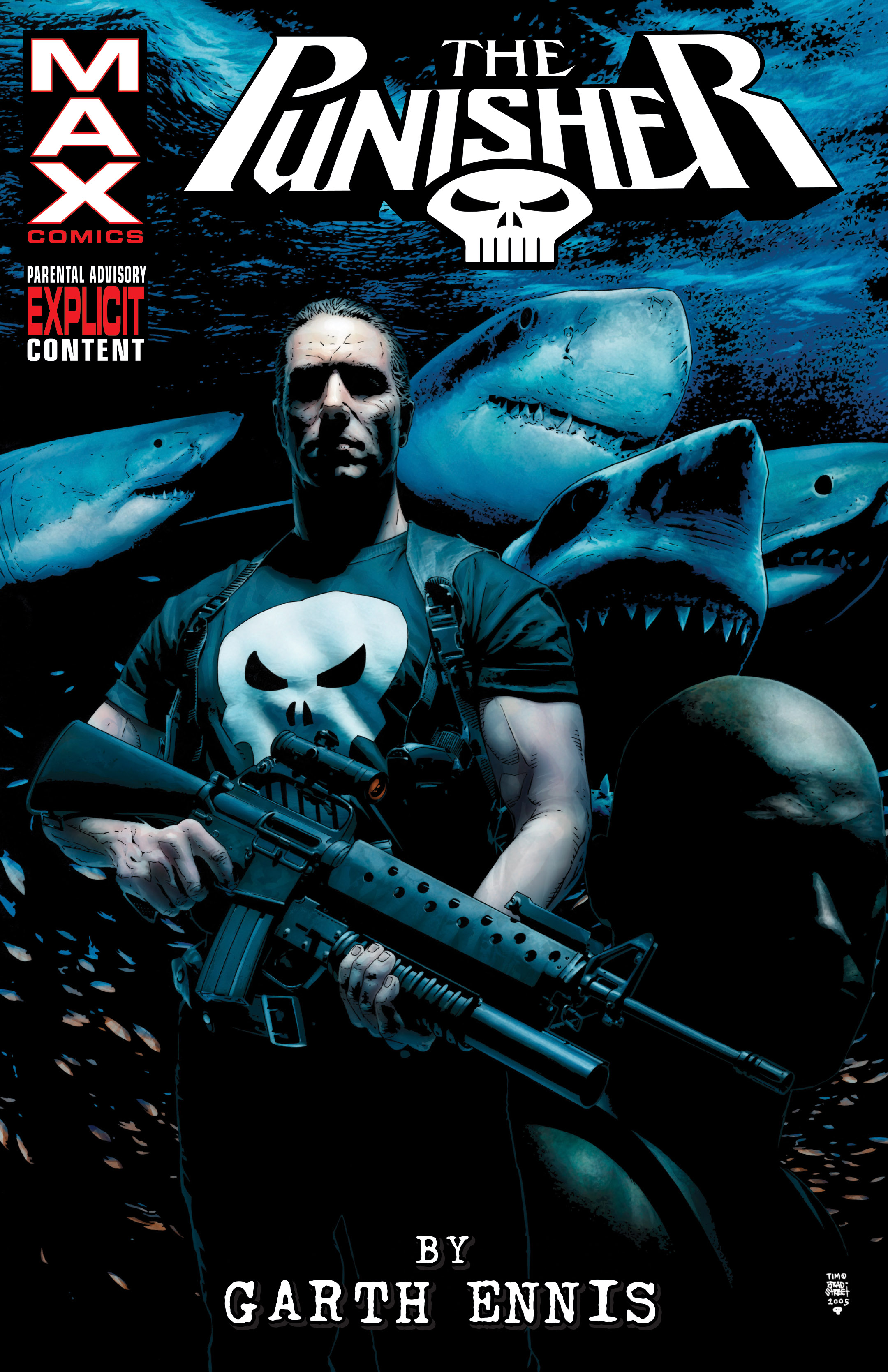 Punisher Max By Garth Ennis Omnibus Vol. 2 (Hardcover)