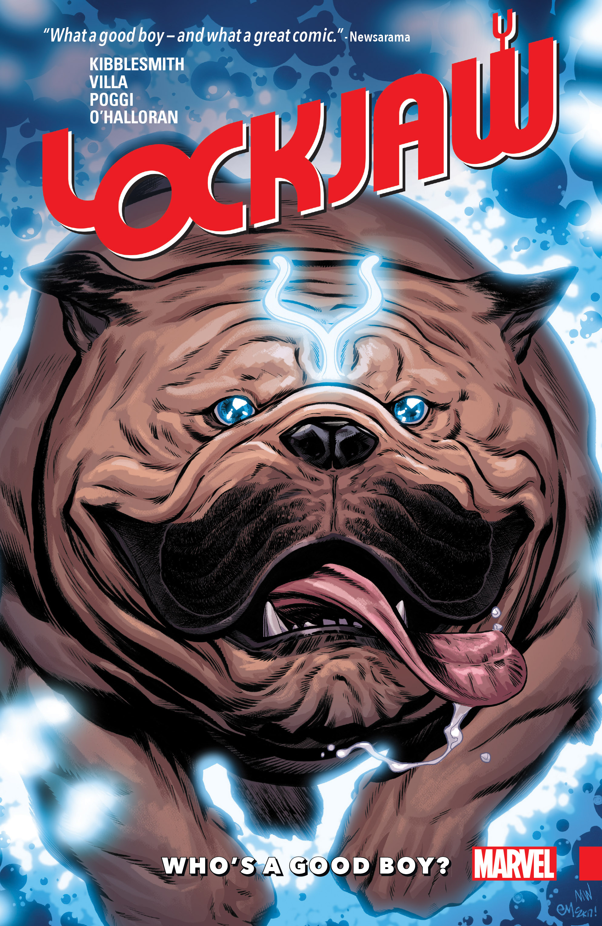 Lockjaw: Who's a Good Boy? (Trade Paperback)