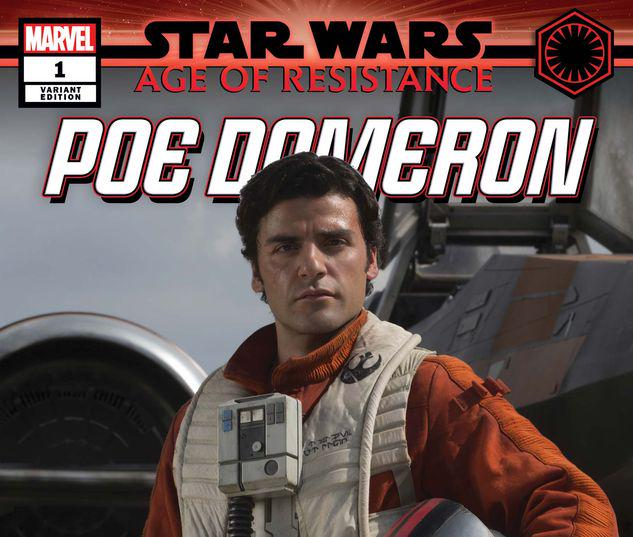 STAR WARS: AGE OF RESISTANCE - POE DAMERON 1 MOVIE VARIANT #1