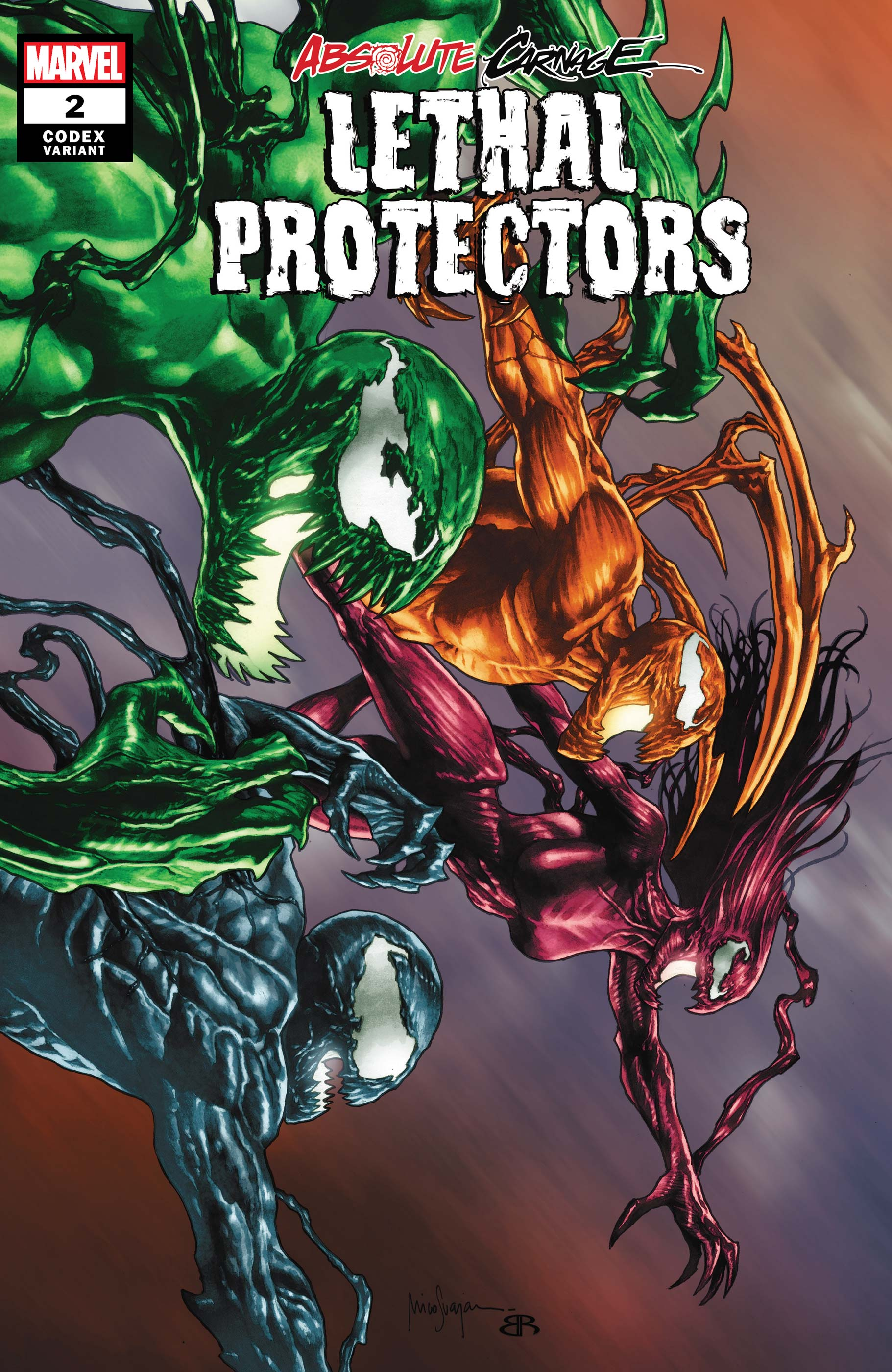 Absolute Carnage: Lethal Protectors (2019) #2 (Variant)