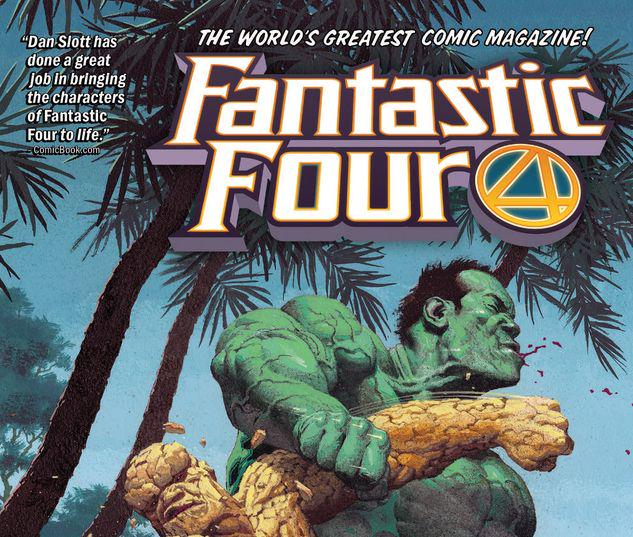 FANTASTIC FOUR VOL. 4: THING VS. IMMORTAL HULK TPB #4