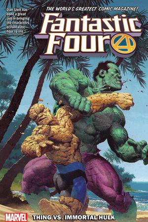 Fantastic Four Vol. 4: Thing vs. Immortal Hulk (Trade Paperback)
