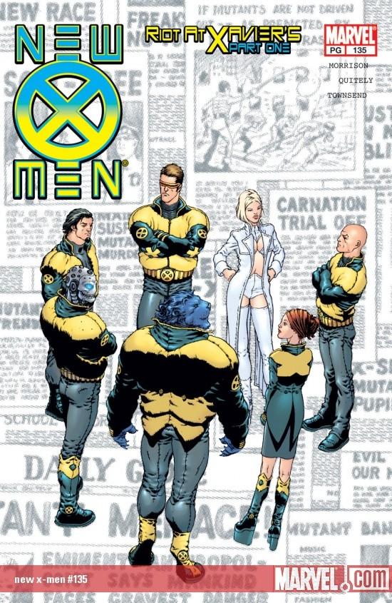 New X-Men (2001) #135