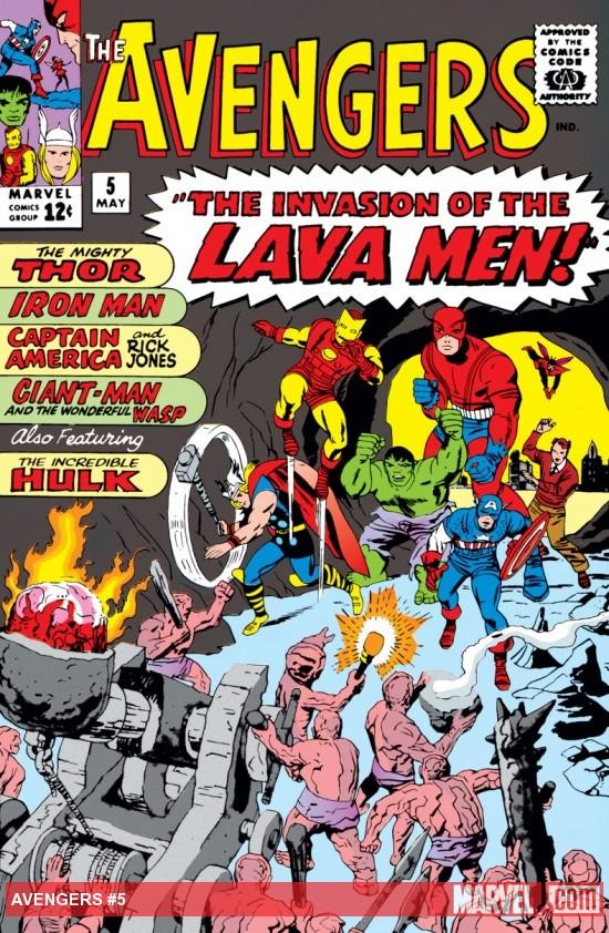 Avengers (1963) #5