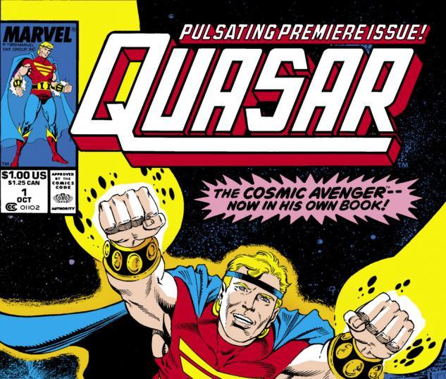 Quasar (1989) #1 Cover