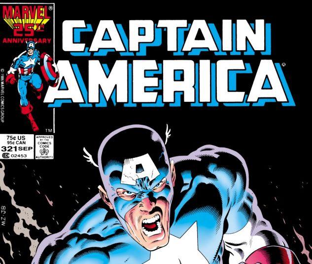 Captain America (1968) #321 Cover