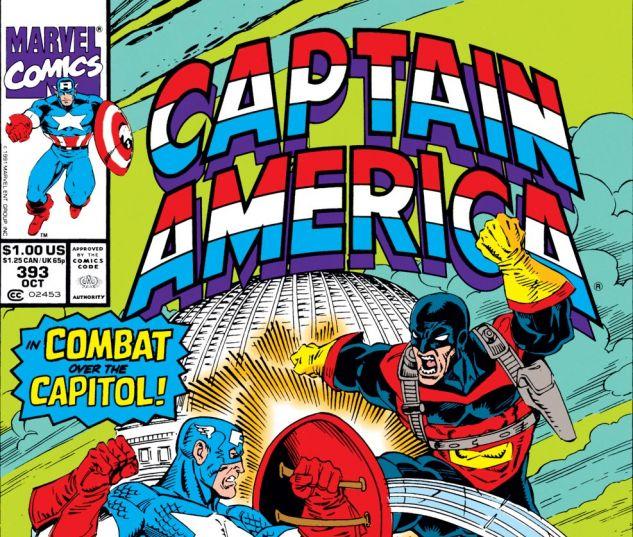 Captain America (1968) #393 Cover