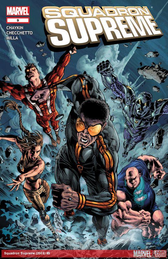 Squadron Supreme (2008) #9