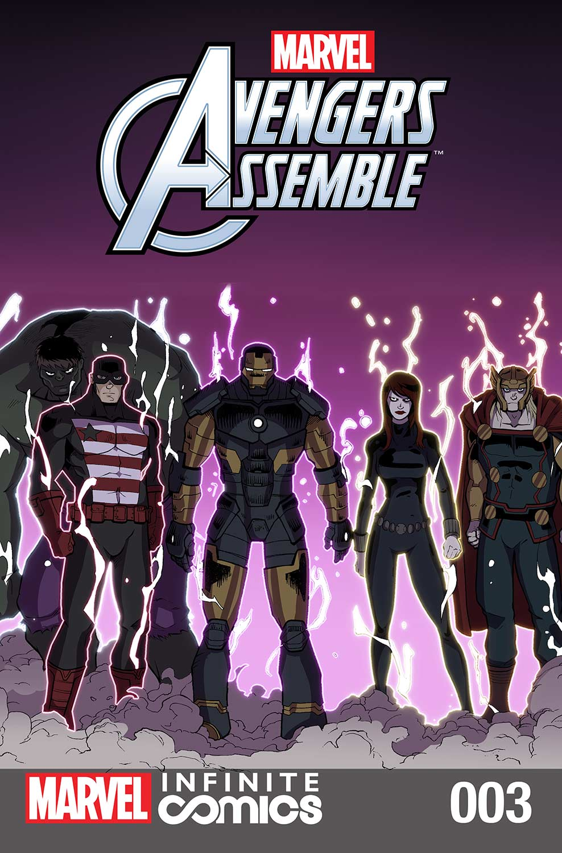 Marvel Universe Avengers Infinite Comic (2016) #3