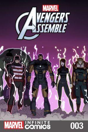 Marvel Universe Avengers: TBD Infinite Comic #3