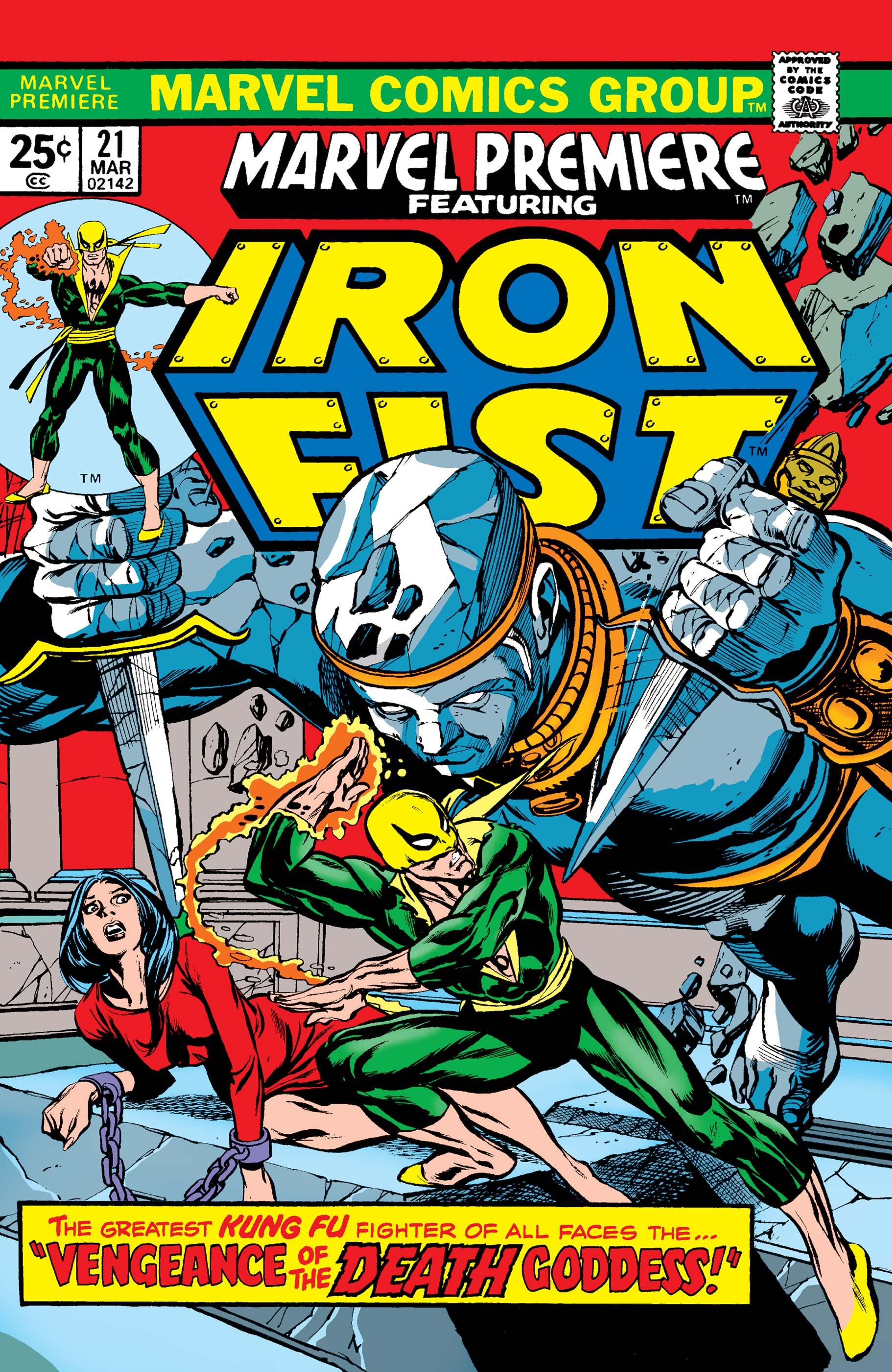 Marvel Premiere (1972) #21