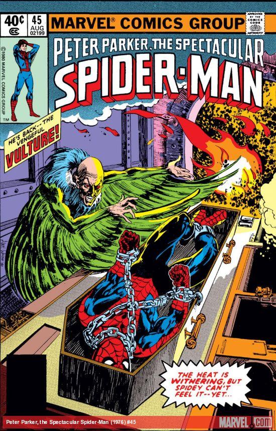 Peter Parker, the Spectacular Spider-Man (1976) #45