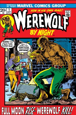 Werewolf By Night  #1