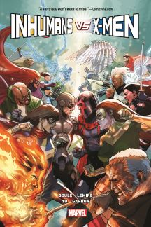 Inhumans Vs. X-Men (Hardcover)